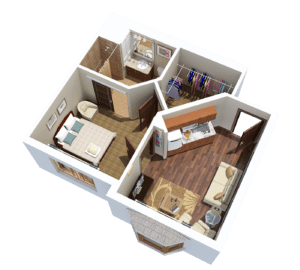 Tampa Assisted Living One Bedroom Senior Apartment
